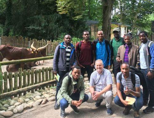 Landau: Ruandische Gast-Masterstudenten zum Infobesuch im Zoo