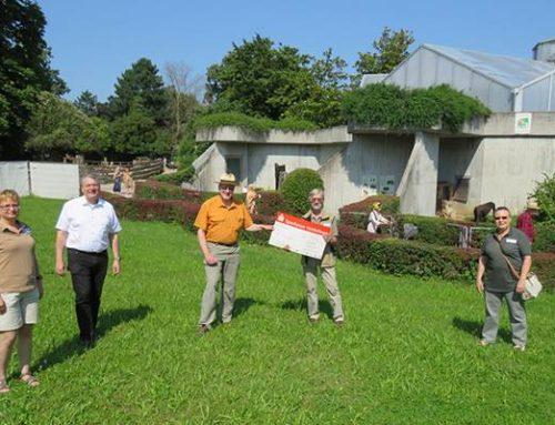 Tiergartenfreunde spenden 15.000 Euro an den Zoo Heidelberg