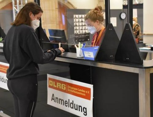 Landau: Corona-Teststation in der Jugendstil-Festhalle reduziert Öffnungszeiten