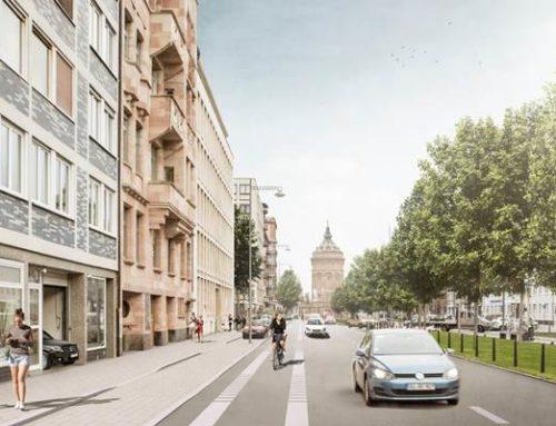 Mannheim: Baustart und Förderbescheid-Übergabe für Radweg Augustaanlage