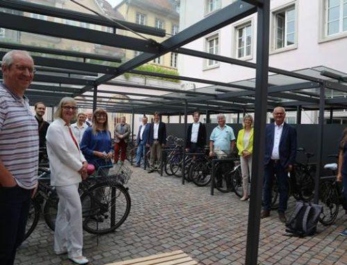 Heidelberg: Neue überdachte Fahrradstellplätze für städtische Beschäftigte