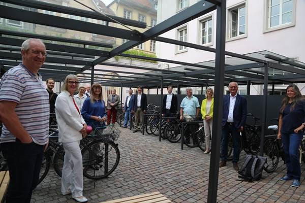 ecoGuide, Stadt Heidelberg, Radstellplätze, Radfahren
