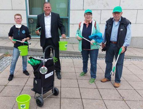 Hockenheim: Neuer Trolley für Reinigungseinsatz