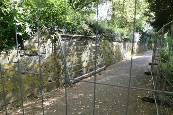 ecoGuide, Landau, Festungsmauer, Mauersanierung