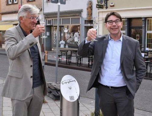 Deutscher Nachhaltigkeitspreis 2021: Stadt Landau installiert drei Trinkwasserbrunnen