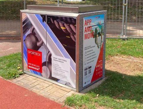 """Mannheim: Abschließendes Special """"Sport im Park"""" – Vorstellung der Sportbox"""