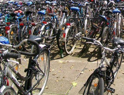 Hockenheim: Fahrräder am Bahnhof bitte entfernen!