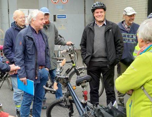 Heidelberg: Gemeinsame Tour von OB Würzner und Vertretern der IG Rad